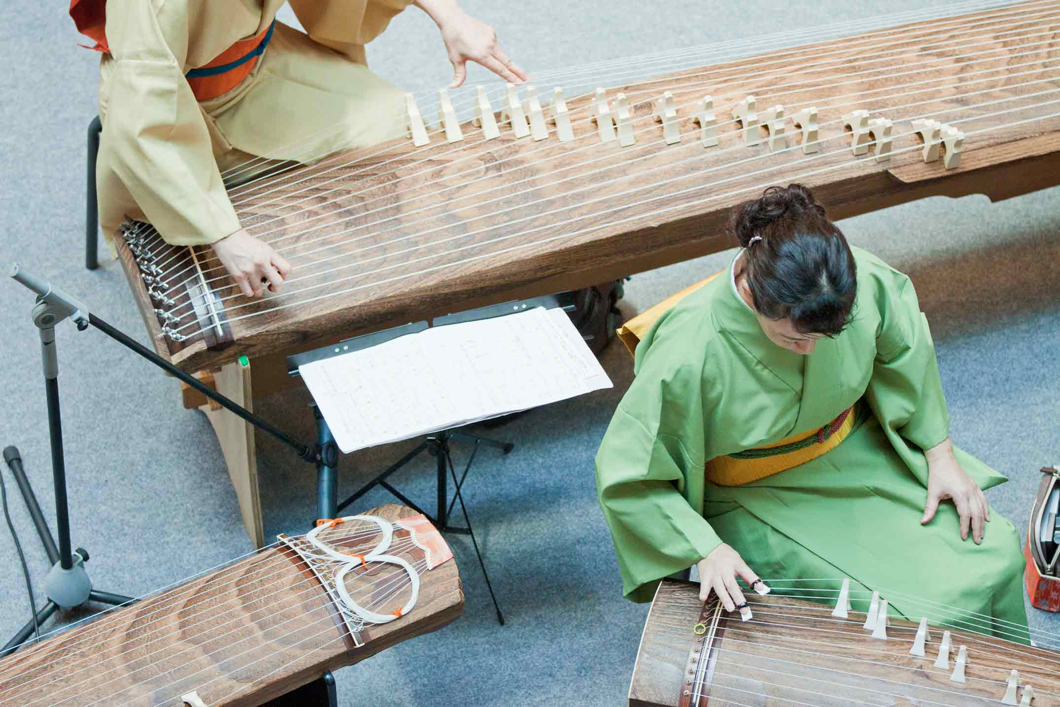 Japanese Koto Performance