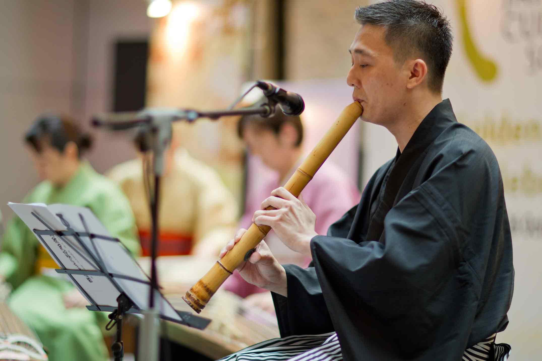 Japanese Koto Performance